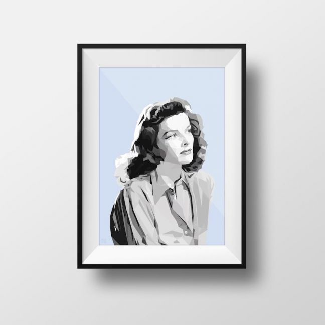 Katharine | Art Print | Framed and Unframed