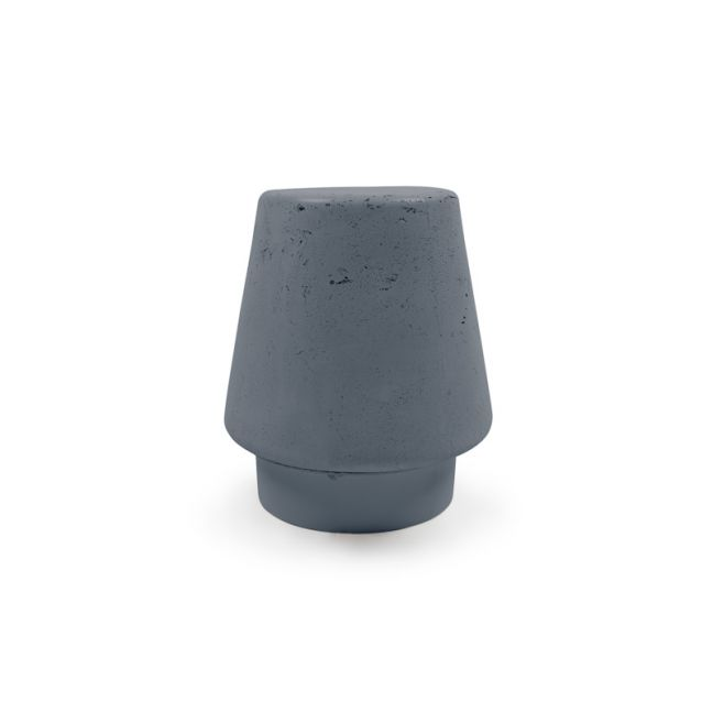 Kevin Stool in Concrete by Nood Co |  Copan Blue