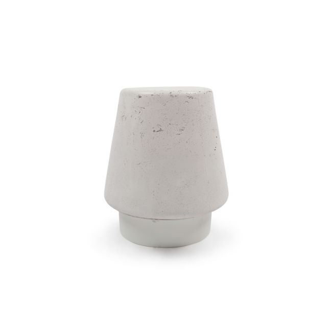 Kevin Stool in Concrete by Nood Co |  Ivory