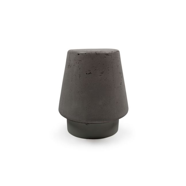 Kevin Stool in Concrete by Nood Co |  Mid Tone Grey