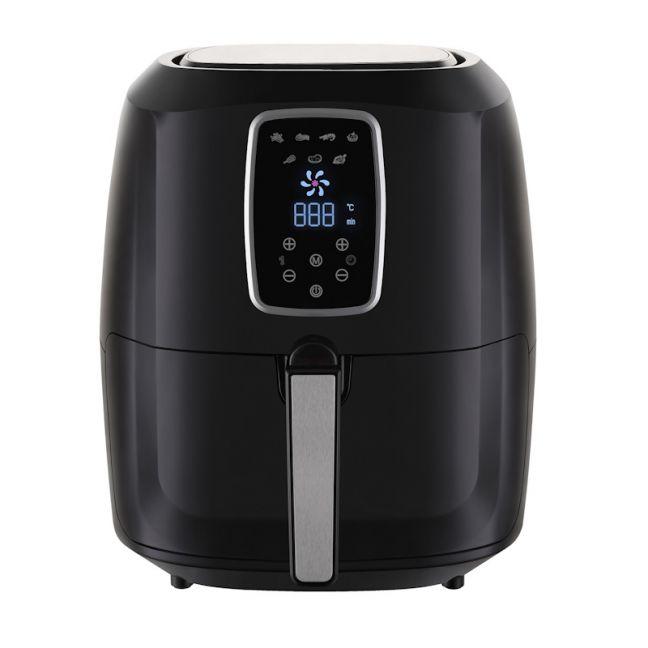Kitchen Couture 7 Litre Deluxe Digital Air Fryer | Black