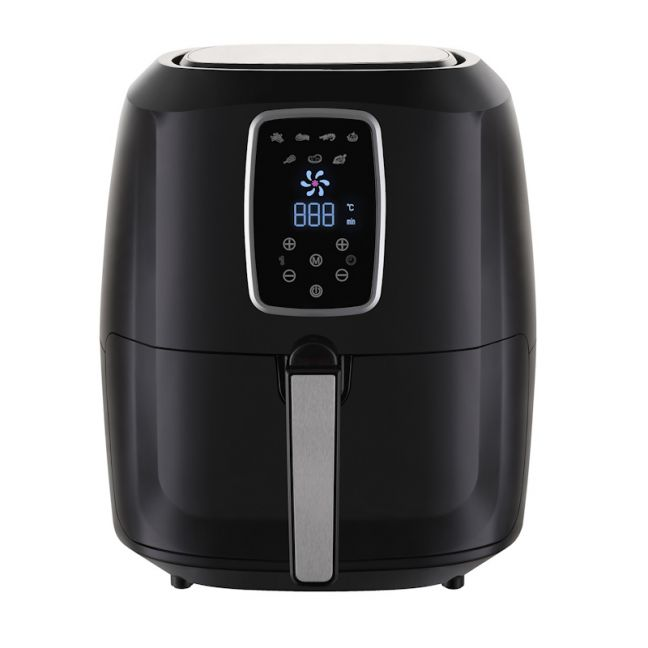 Kitchen Couture Deluxe 7 Litre Digital Air Fryer | Black