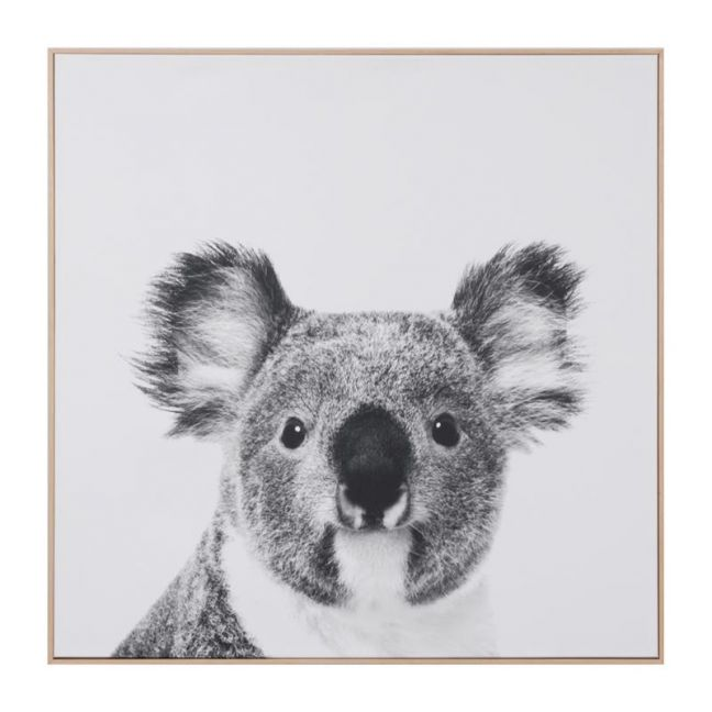 Koala Print On Canvas | Framed