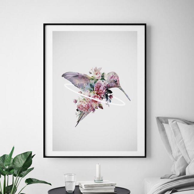 Kolibri by Daniel Taylor   Unframed Art Print