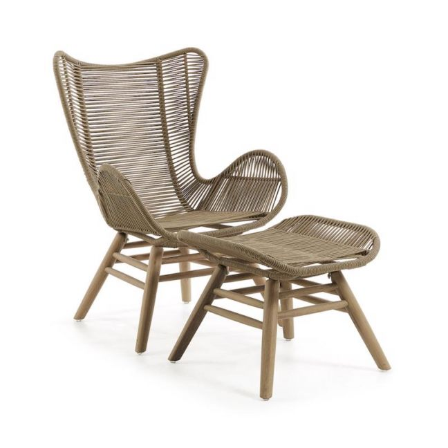 Kubic Patio Armchair | Tan | CLU Living