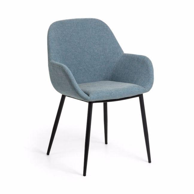 Kylie Dining Chair | Steel Blue | CLU Living