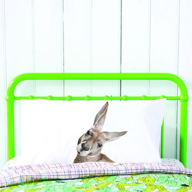 Kylie the Kangaroo Pillowcase   by For Me By Dee