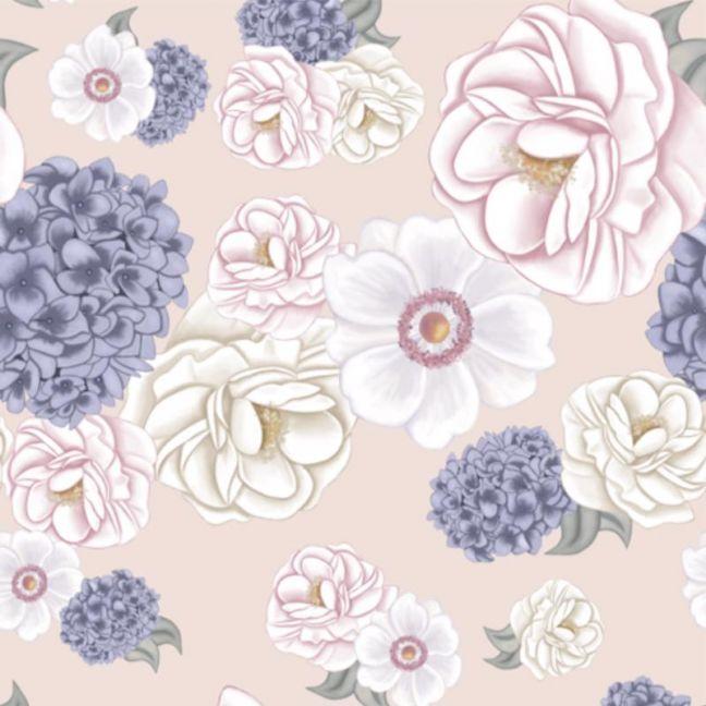 La Marie Dusty Fawn Wallpaper
