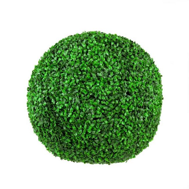 Large Boxwood Topiary Ball | UV Resistant | 48cm