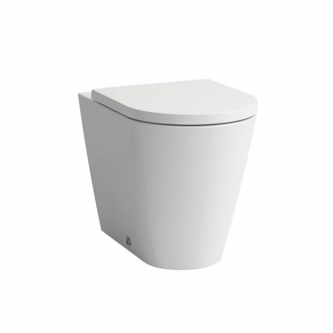 LAUFEN Kartell Back to Wall Pan with Soft Close Seat White (4 Star) | Reece