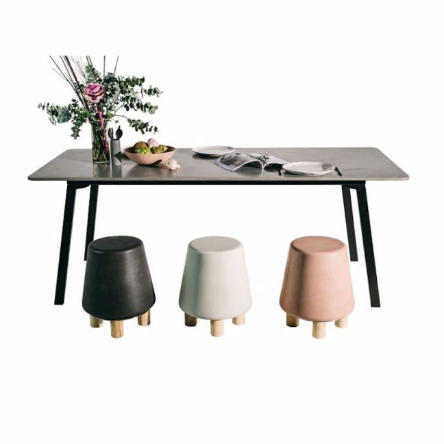 Layla Dining Table by Nood Co   Various Colours