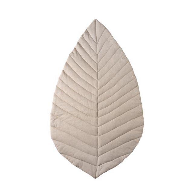 Leaf Cotton Play Mat | Oat
