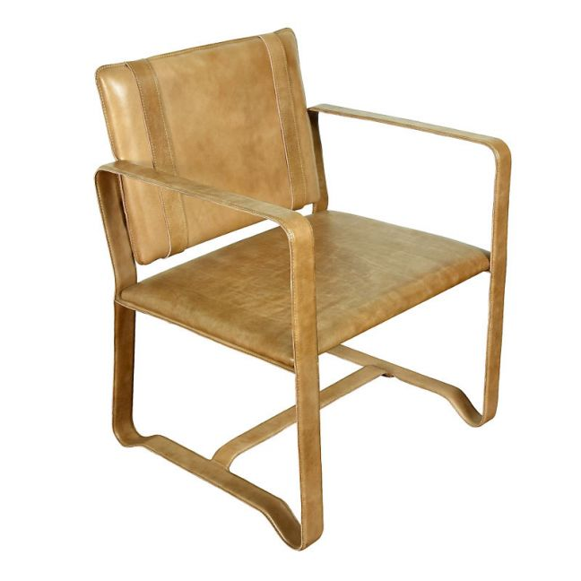 Leather Clyde Chair | Tan