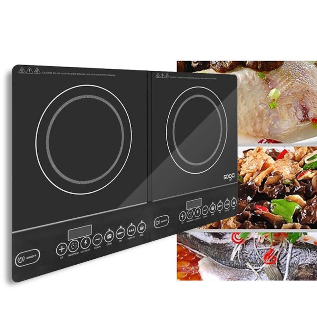 LED Electric Portable Induction Cooktop | Double Burner