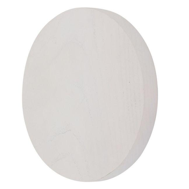 LEDlux Disk LED 150mm White Wall Light | by Beacon Lighting