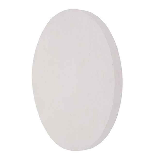LEDlux Disk LED 250mm White Wall Light | by Beacon Lighting