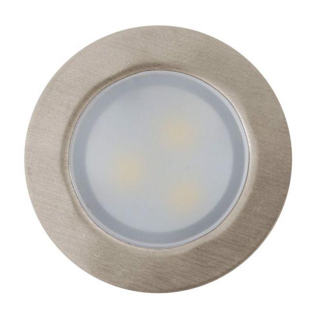 LEDlux Eos II 30mm 4 Light Warm White Decklight Kit in Stainless Steel   By Beacon Lighting