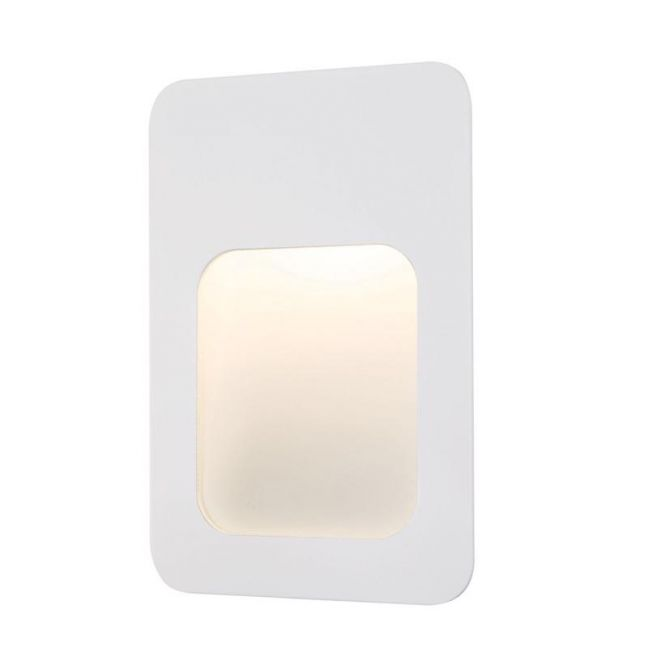 LEDlux Foro Rectangle Steplight In White