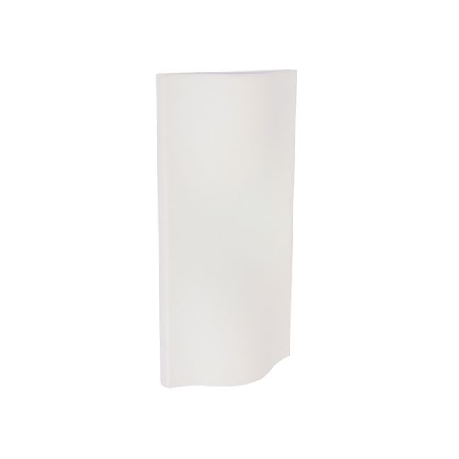 LEDlux Macedon Exterior Up/Down Wall Light in White | By Beacon Lighting