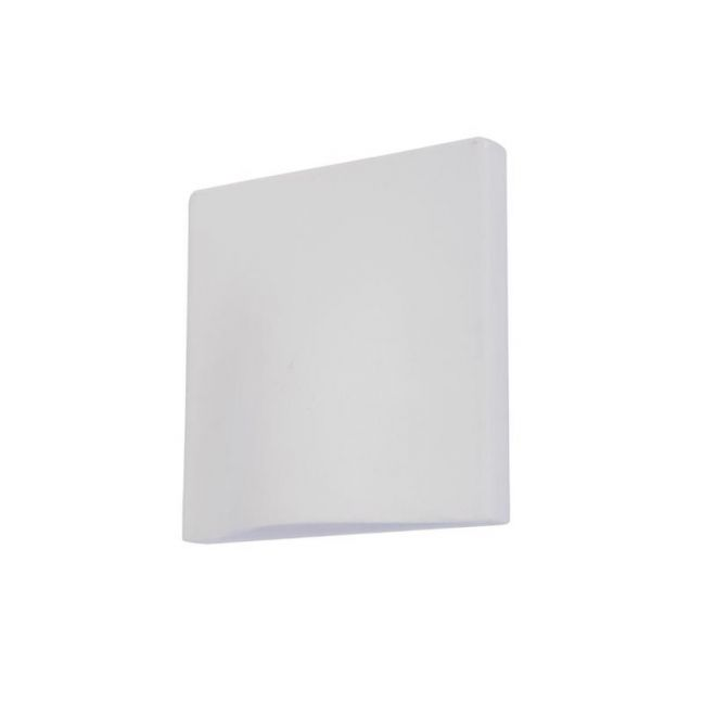 LEDlux Macedon Exterior Wall Light in White | By Beacon Lighting
