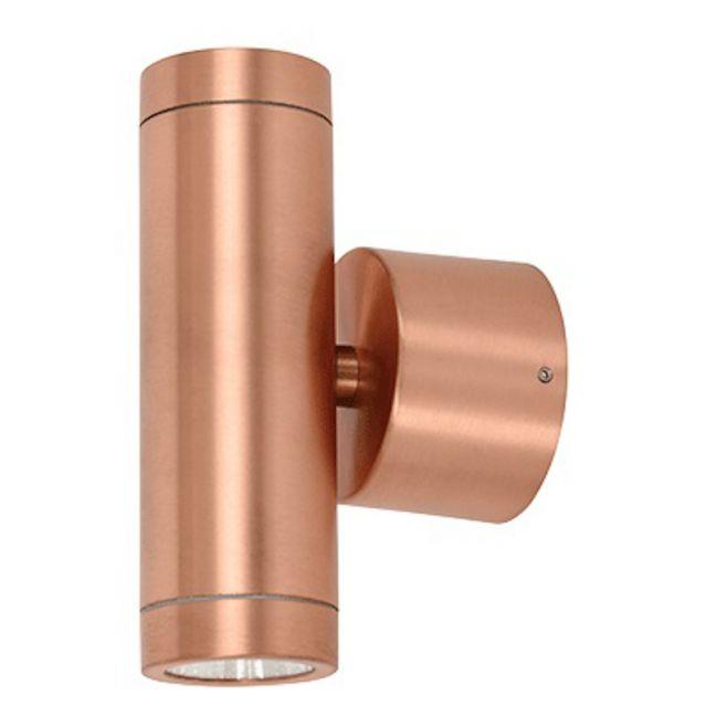 LEDlux Marine 2 Light Up/Down Light | Copper | By Beacon Lighting