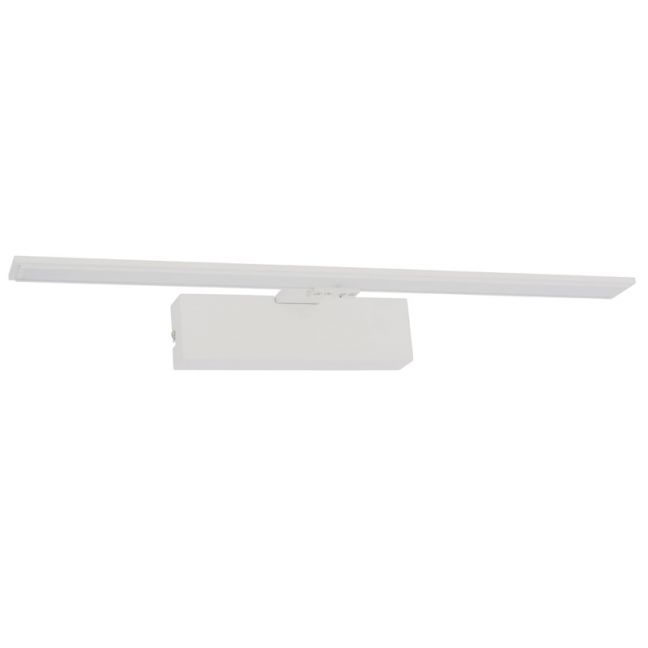 LEDlux Montana 550mm Dimmable LED White Wall Bracket in Warm White | By Beacon Lighting