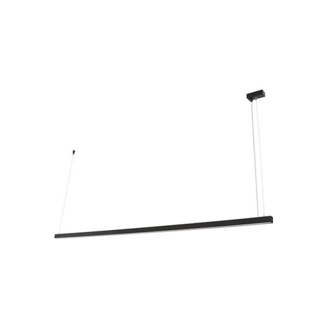 LEDlux Strix LED Pendant   Black   By Beacon Lighting