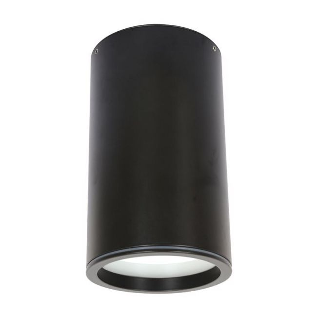 LEDlux Surface 150mm Dimmable Downlight in Black   By Beacon Lighting