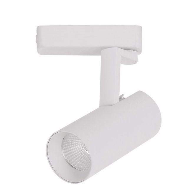 LEDlux Vegas Dimmable LED White Track Spot in Warm White | By Beacon Lighting