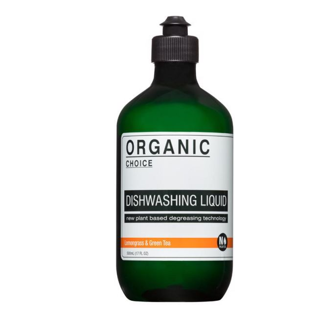 Lemongrass & Green Tea Dishwashing Liquid | 500ml