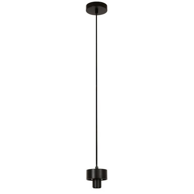 Lexicon 1 Light 2m Suspension in Black | By Beacon Lighting