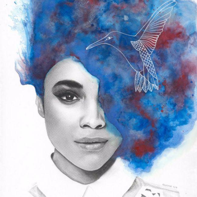 Like a Bird by Kati Garrett Filho | Ltd. Edition Print | Art Lovers Australia