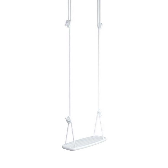 Lillagunga Classic Swing | White Birch with White Rope