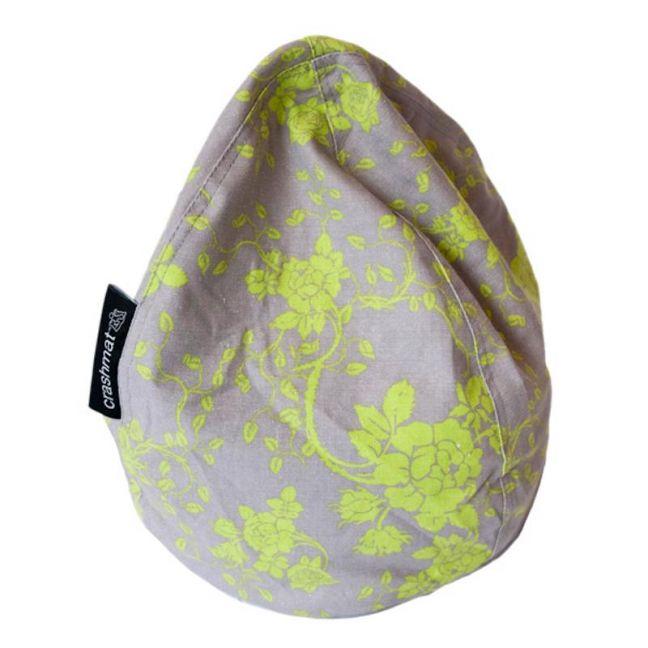 Lime Floral Crashmat Bubble