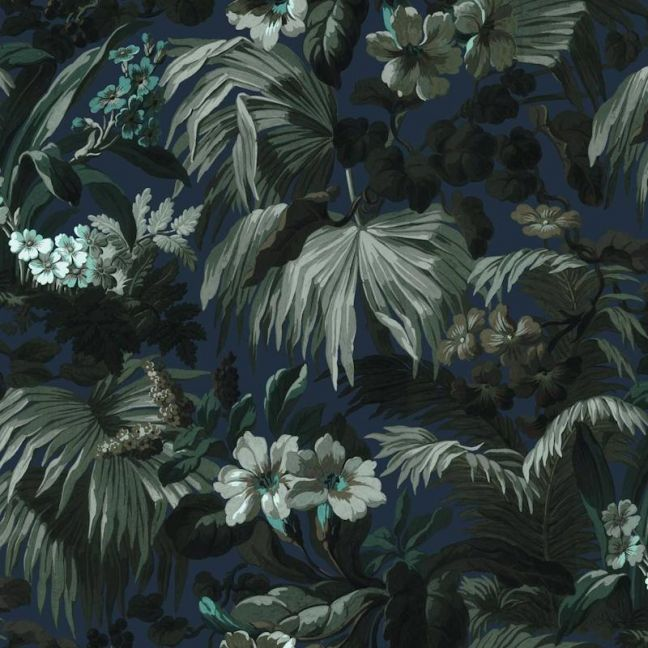 Limerence Botanical Wallpaper | Ink