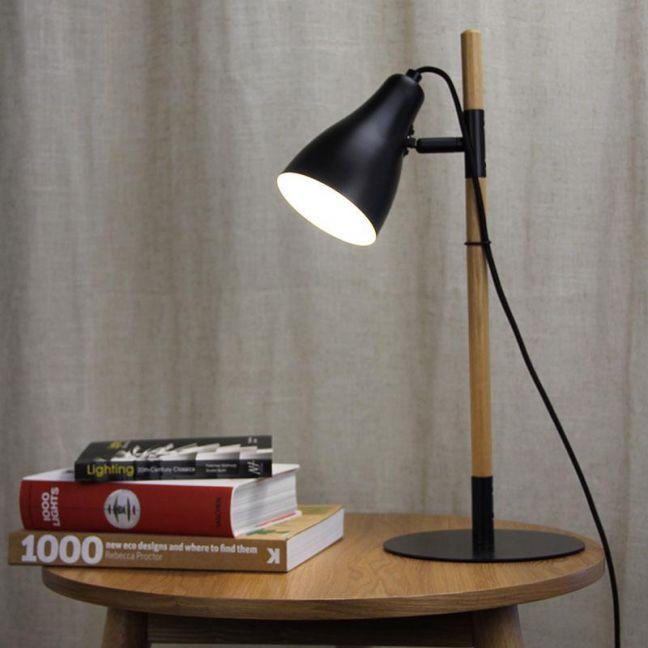 Lom Desk Lamp Black