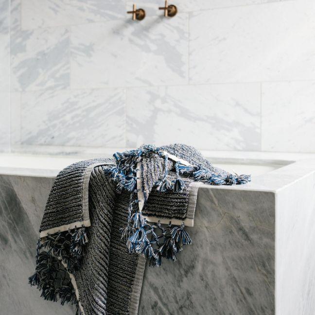 Loom Towels Navy Bath Mat