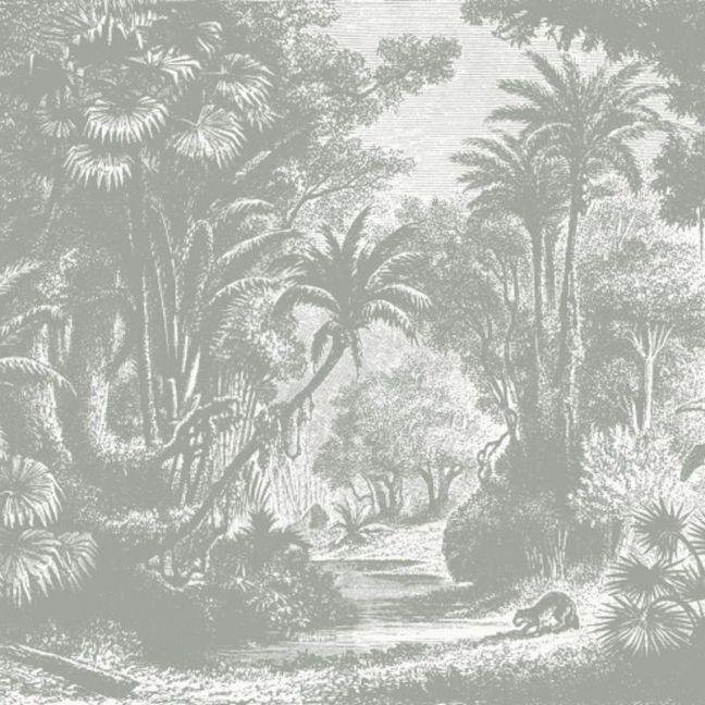 Lost in Goa Mural - Grey