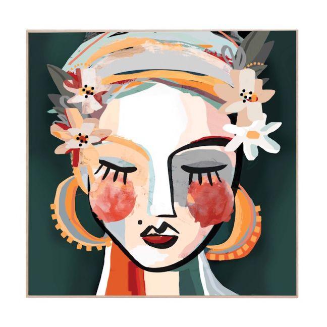 Lotti | Framed Canvas Art Print