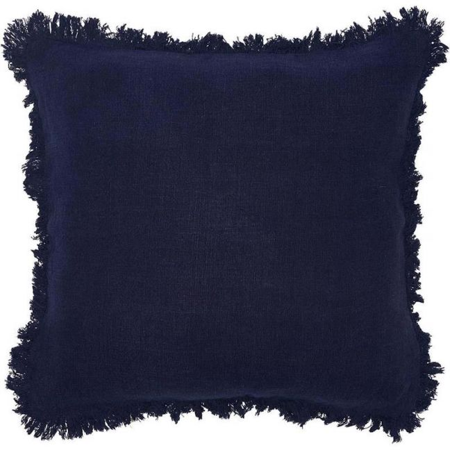 Luca Boho Cushion | Large | Navy