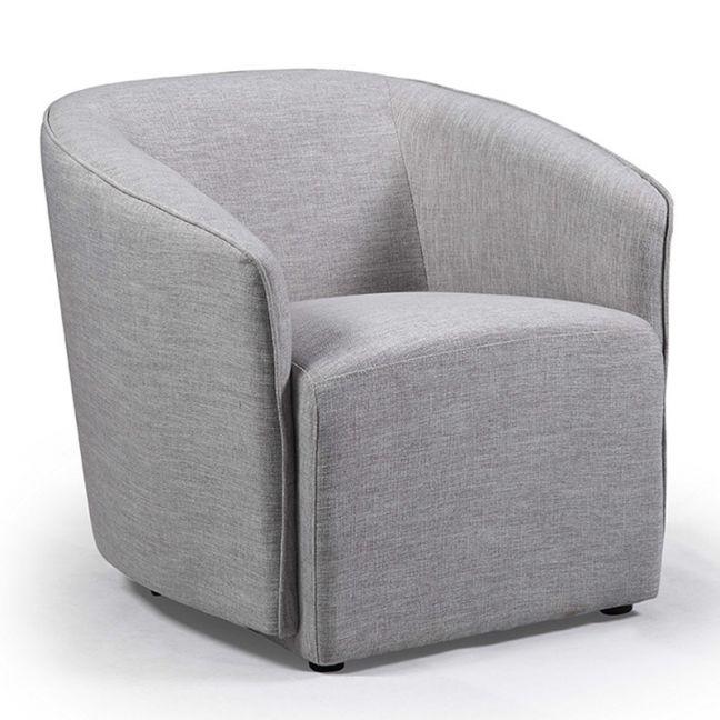 Lucian Armchair   Grey   Modern Furniture
