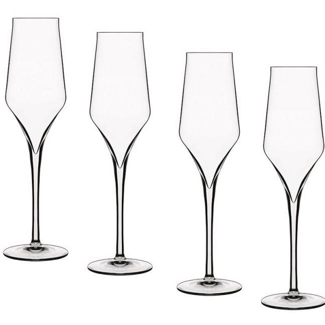 Luigi Bormioli Supremo Champagne Glass | Set of 4
