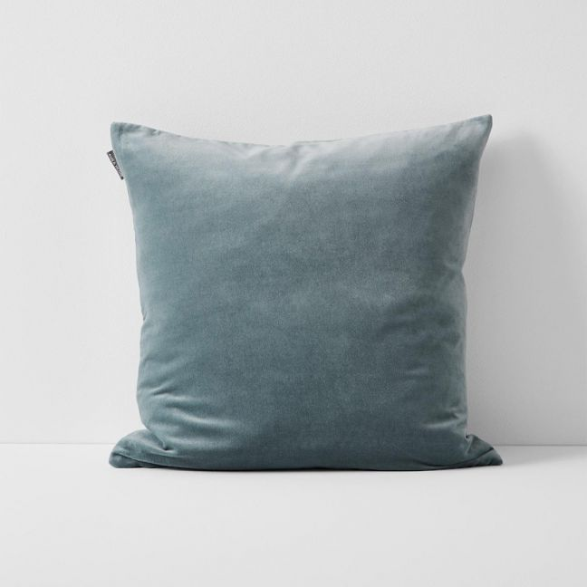 Luxury Velvet Cushion | Eucalypt by Aura Home