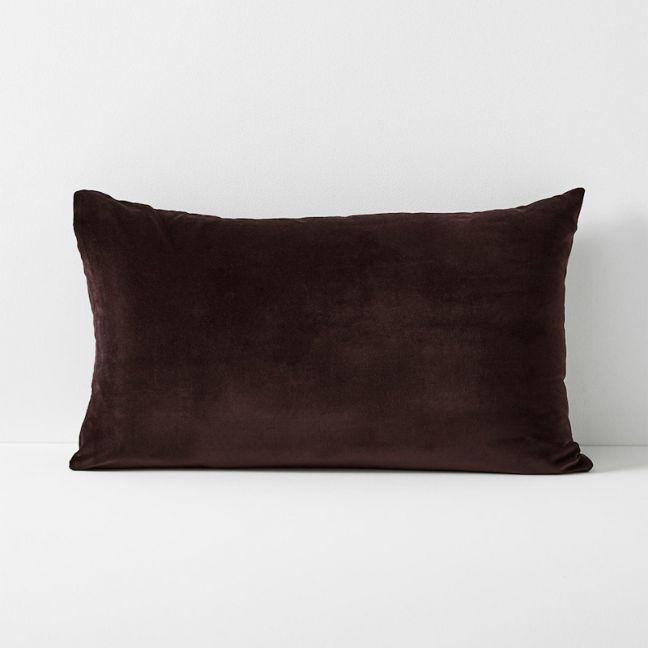 Luxury Velvet Standard Pillowcase | Fig by Aura Home