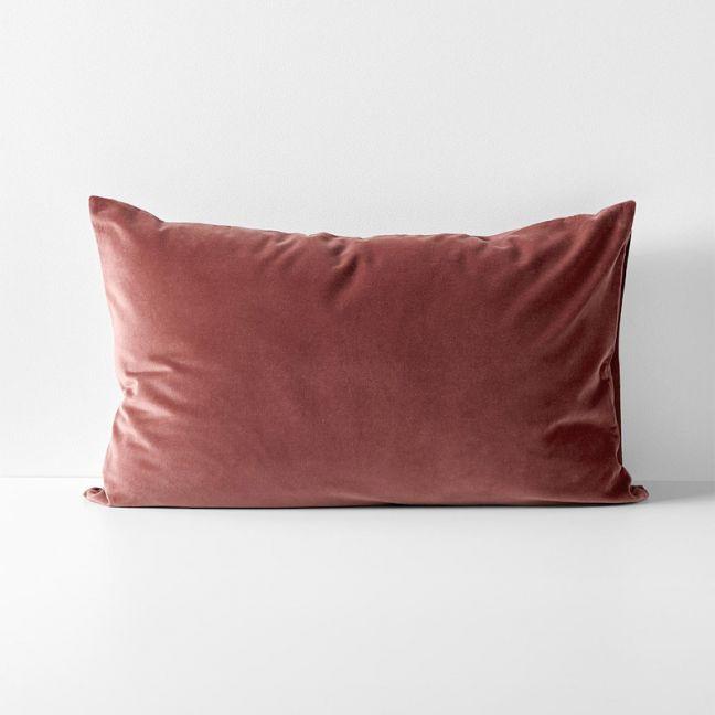 Luxury Velvet Standard Pillowcase | Mahogany by Aura Home