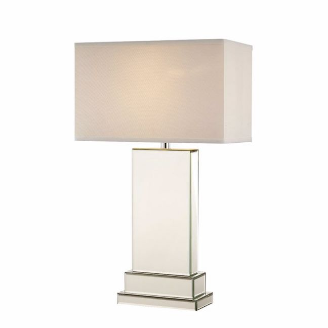 Lydia Mirror Tower Table Lamp | by Black Mango