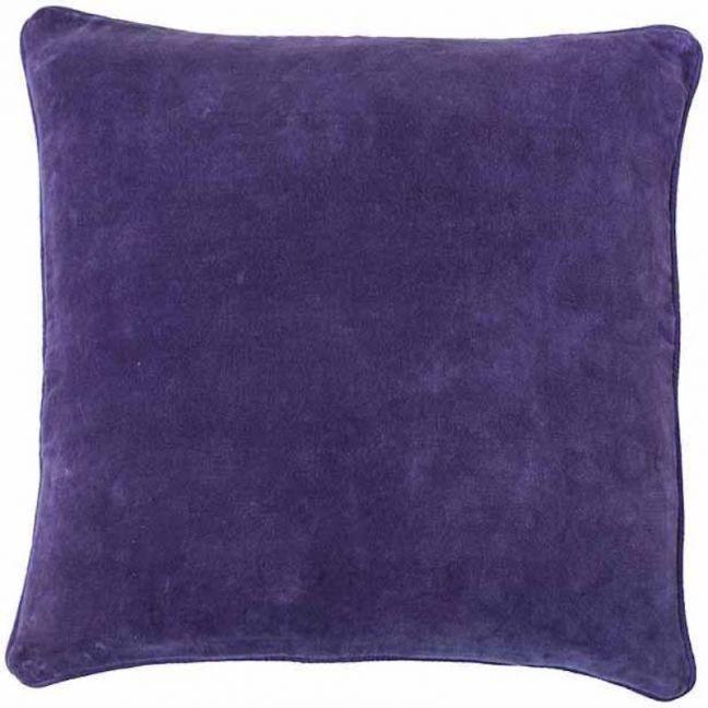 Lynette Velvet Cushion | Grape | Large