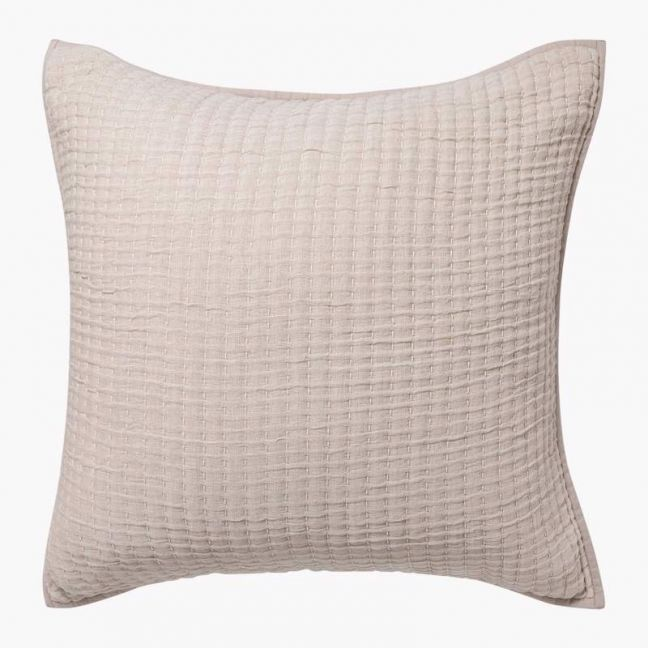 Maddox Sand Pillowcase   European