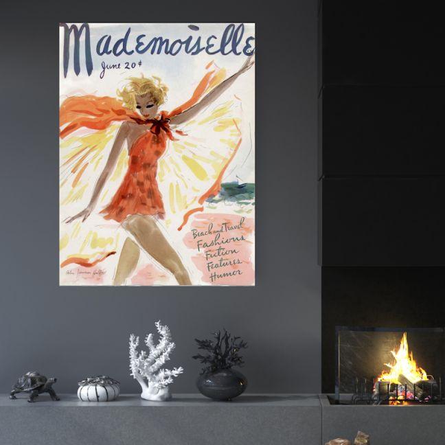Mademoiselle | Canvas Art by Hoxton Art House