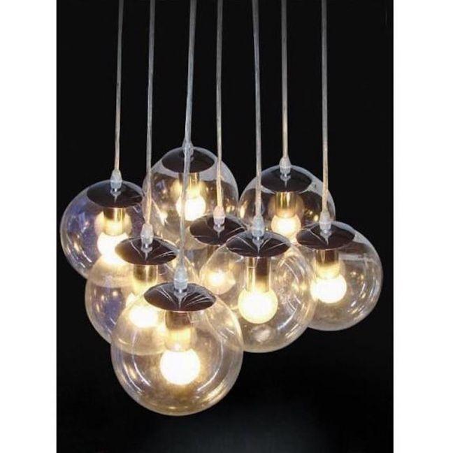 Madison Glass Cluster Pendant Lights | Modern Furniture